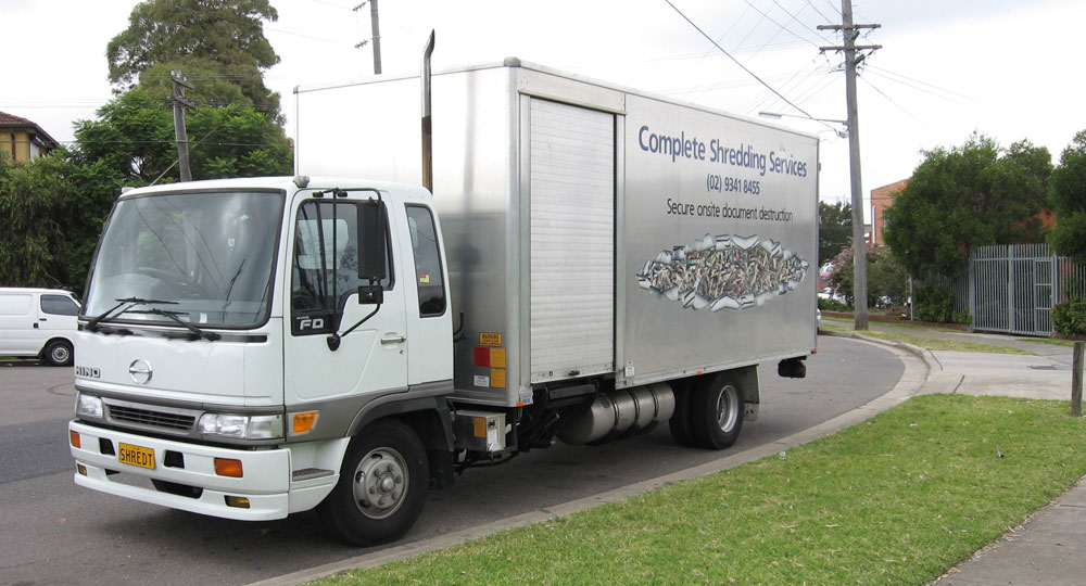 Complete Shredding Mobile